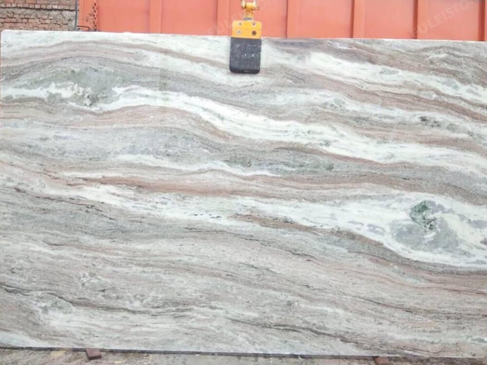 Fantasy Brown Marble Slab Polished