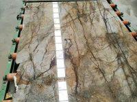 Florence Grey Marble Slab High Polished