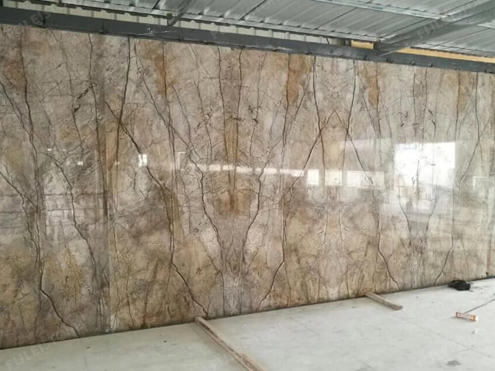 Florence Grey Marble Slab for Background