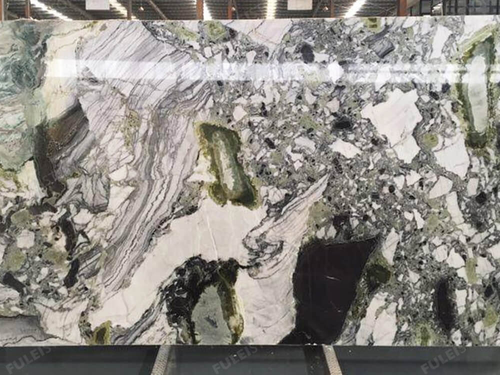 Green Jade Marble Slab