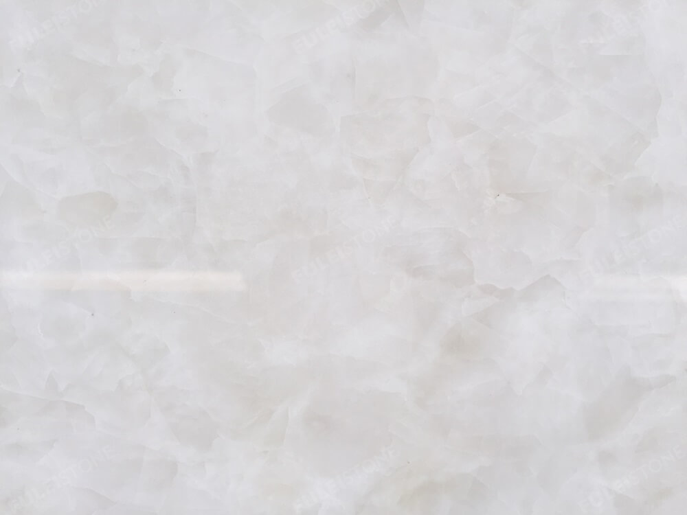Ice White Onyx Slab Details