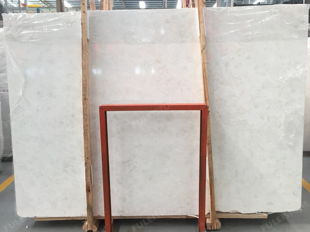 Ice White Onyx Slab