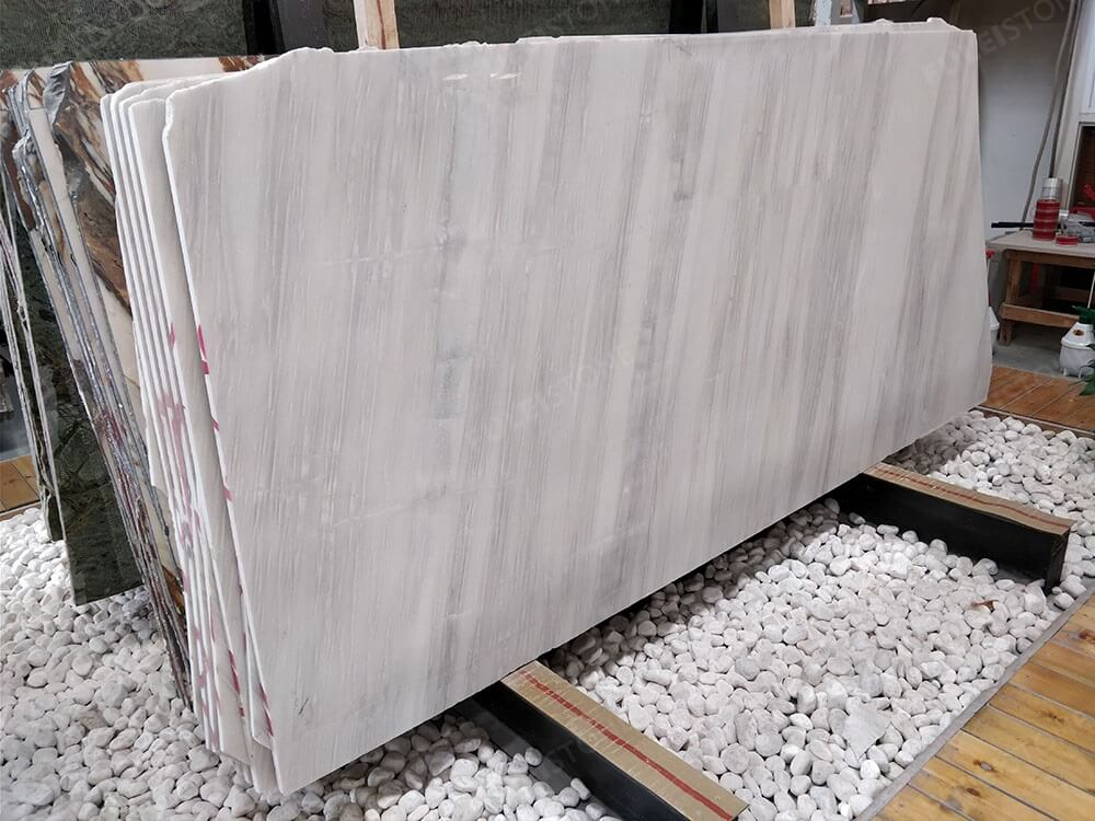 Ice Wood Marble Slabs