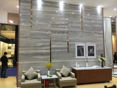 Ice Wood Marble Wall Decoration