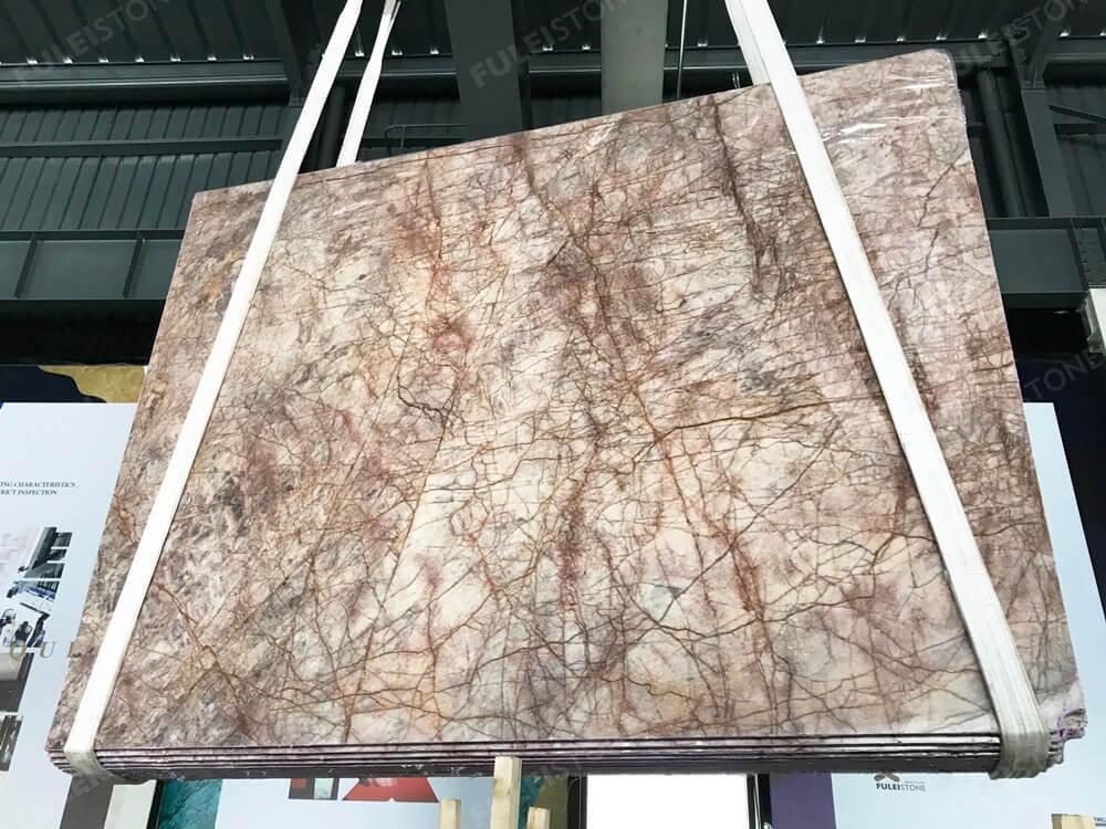 Impressive Amazon Brown Marble Slab