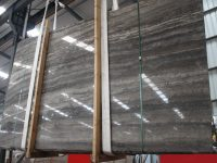 Dark Silver Travertine Big Slab