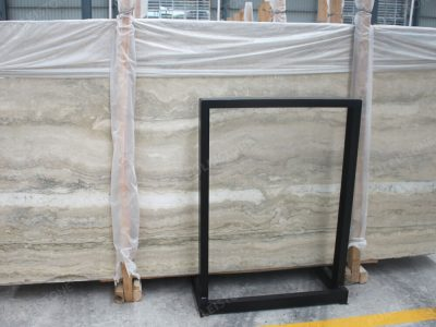 Italian Ocean Blue Travertine Marble