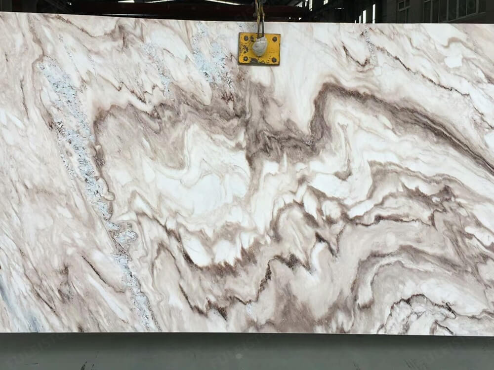 Italian Palissandro Brown Marble Slab