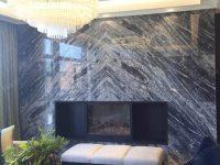 Italian Universal Grey Marble Slab for Background