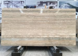 Italy Silver Travertine Marble slab