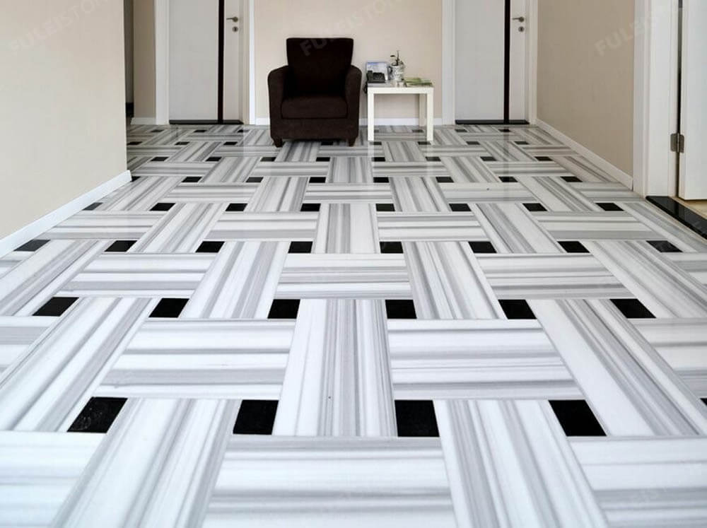 Marmara White Marble Flooring Tiles
