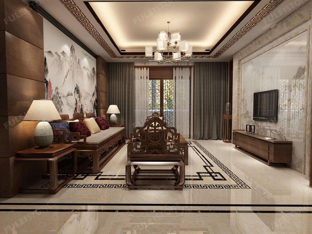 Moca Cream Limestone for Interior Decoration