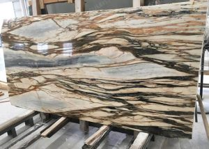 New Giallo Siena Marble Slab