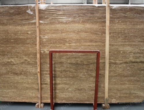 Brown Noce Travertine Slab