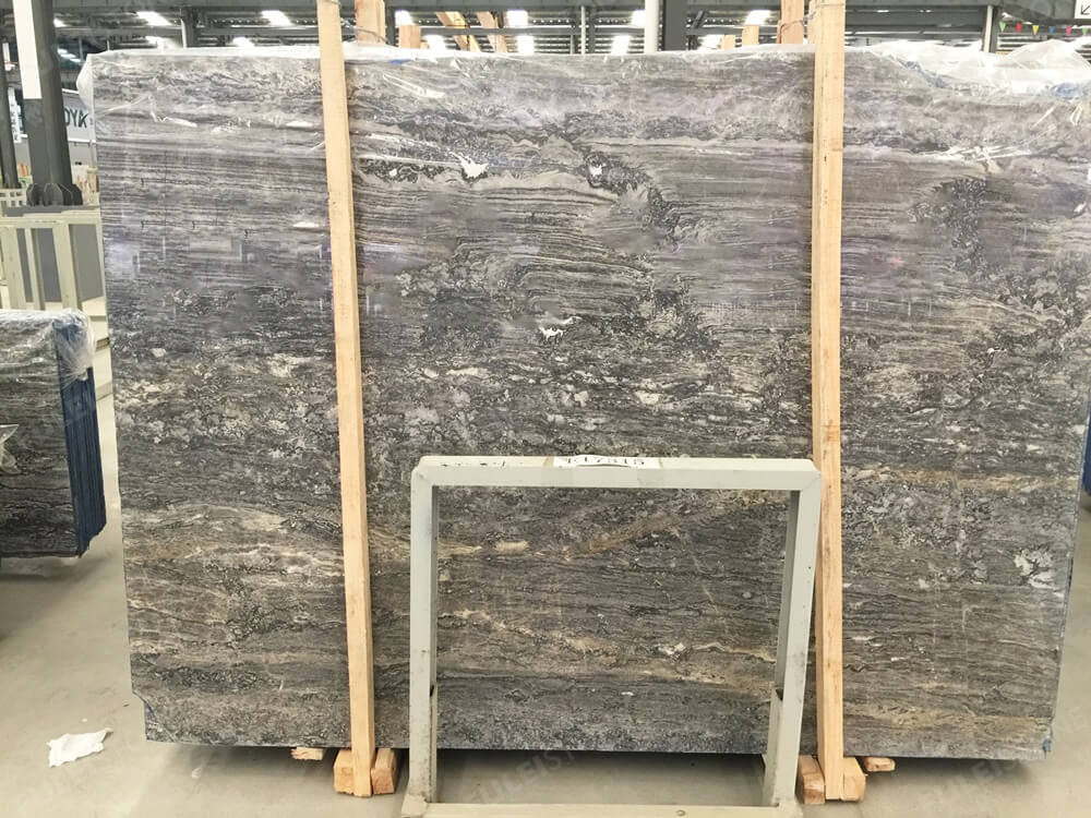 Ocean Grey Marble Polished