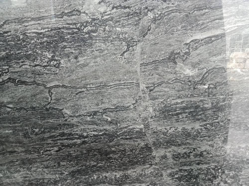 Ocean Grey Marble Slab Details