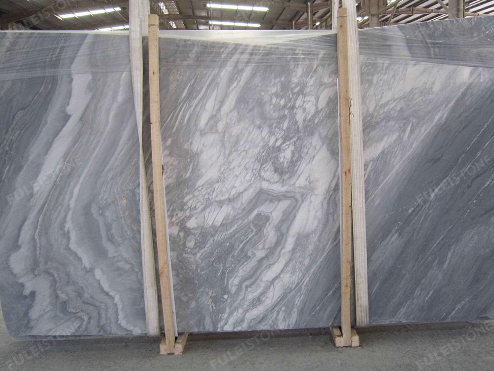 Palissandro Nuvolato Marble Slab For Home Decoration