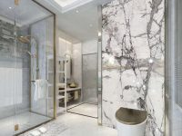Polished invisible grey marble