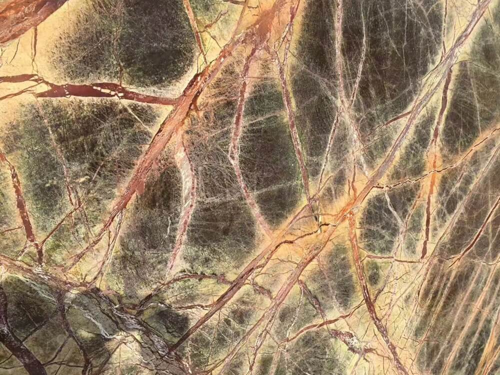 Rain Forest Green Marble Slab Details