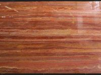 Red Travertine Marble Polished