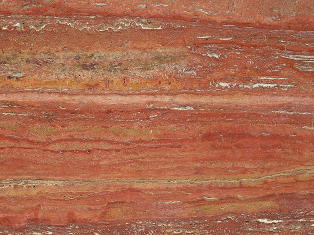 Red Travertine Marble Texture