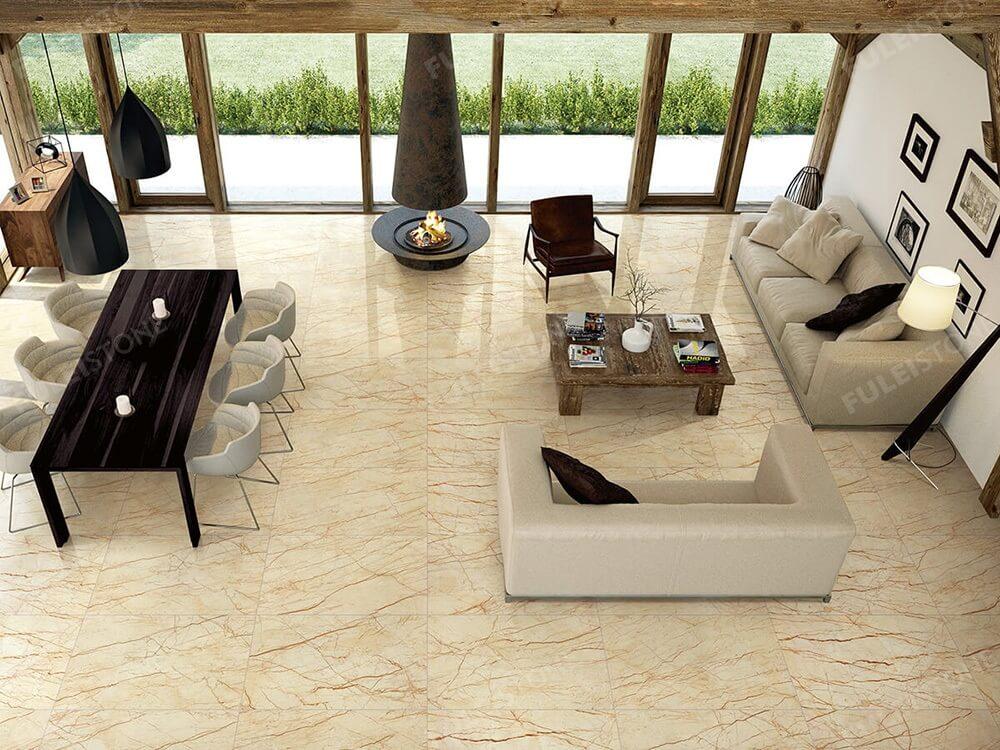 Sofitel Gold Marble Flooring Tiles