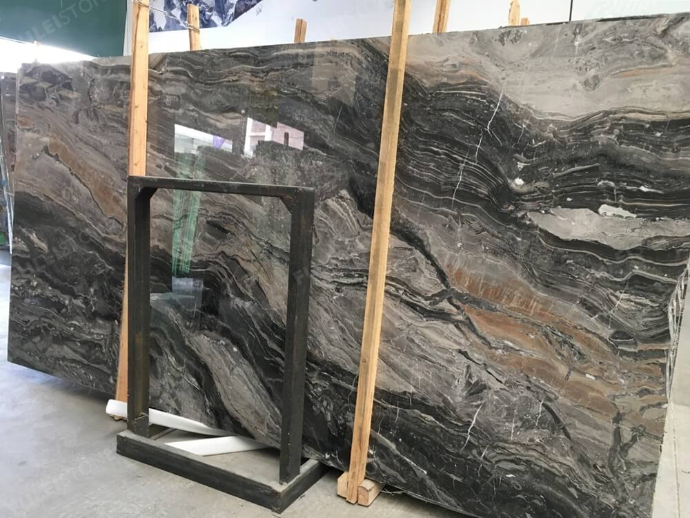 arabescato orobico polished marble slab