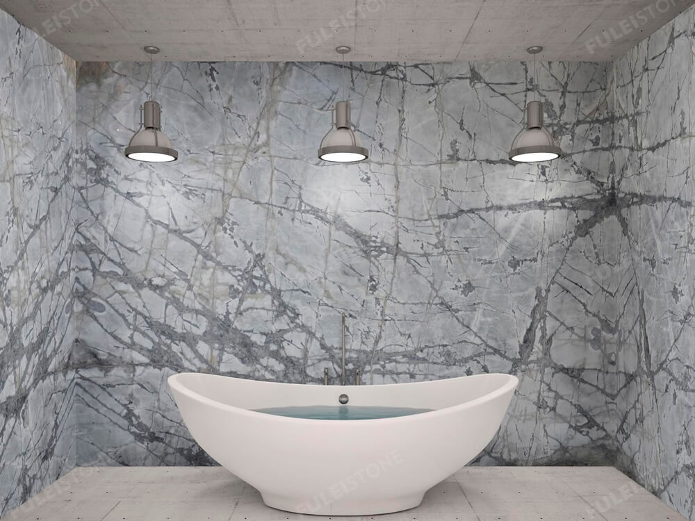 artistic tile invisible grey for wall cladding