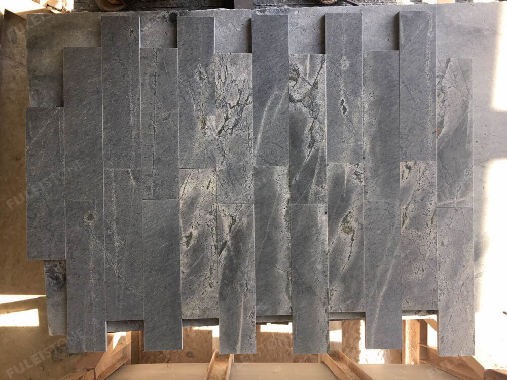 atlantic grey granite mosaic