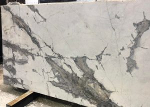 invisible gray marble slab