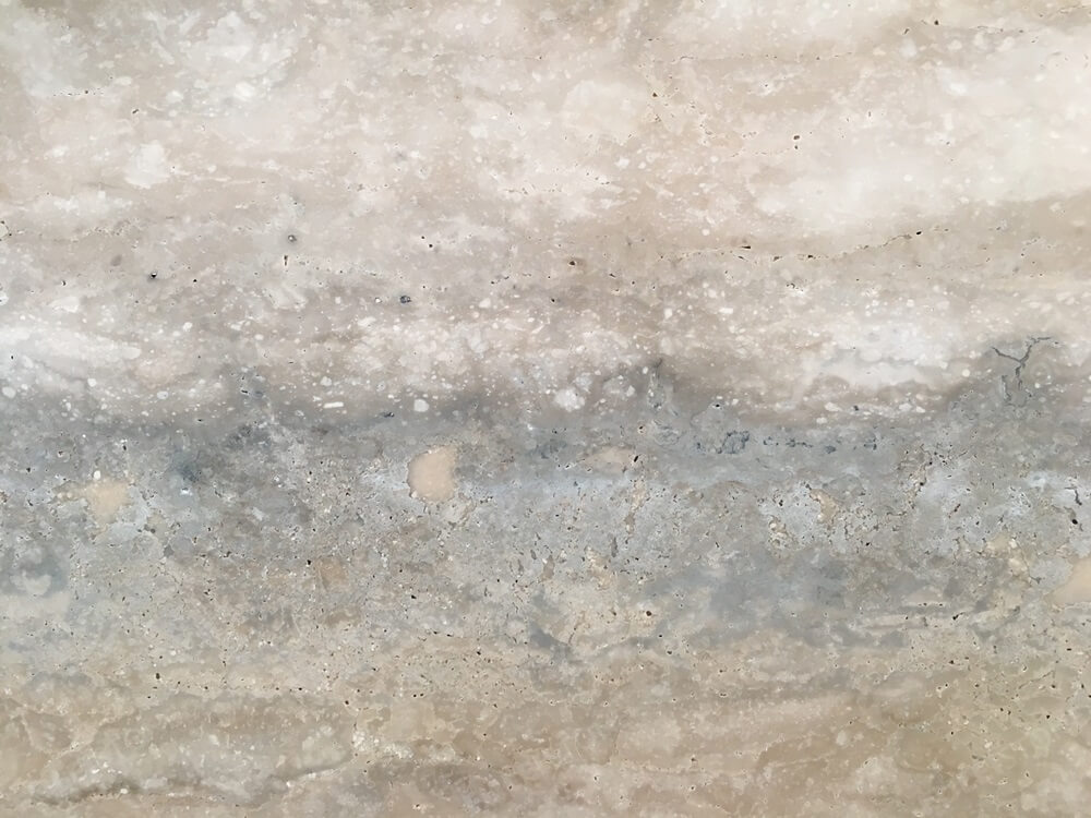 italian silver travertine stone