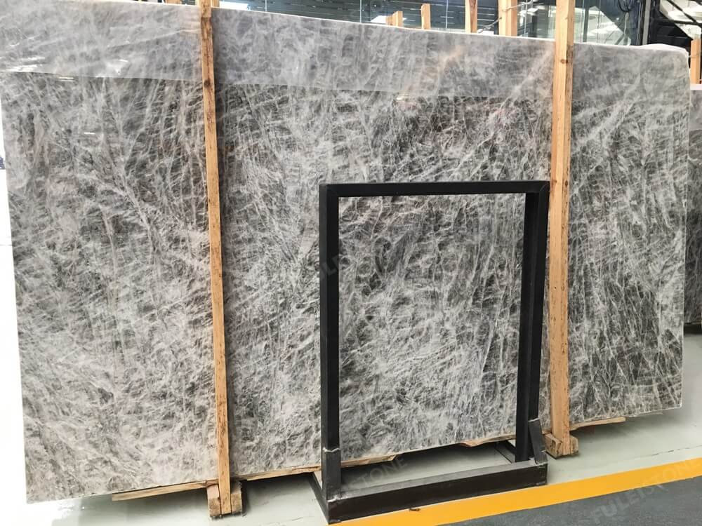 onicce apls grey polished marble slabs