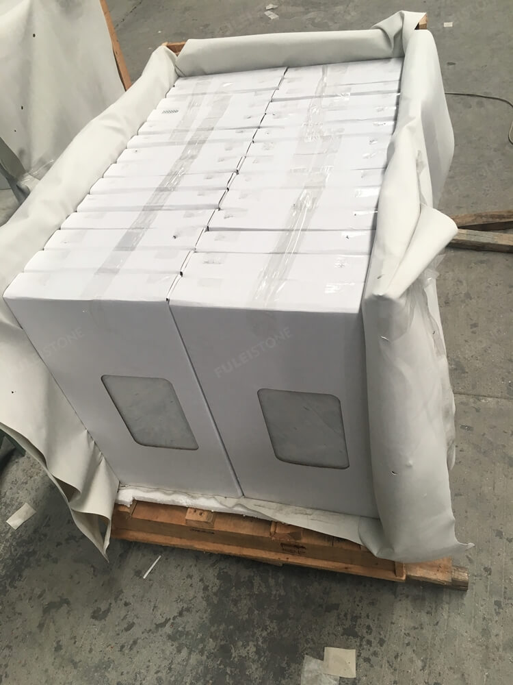 305x610mm marble tile packing