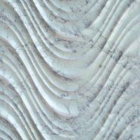 3D Carven White Marble Tile Style (2)
