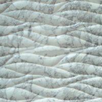 3D Carven White Marble Tile Style (3)