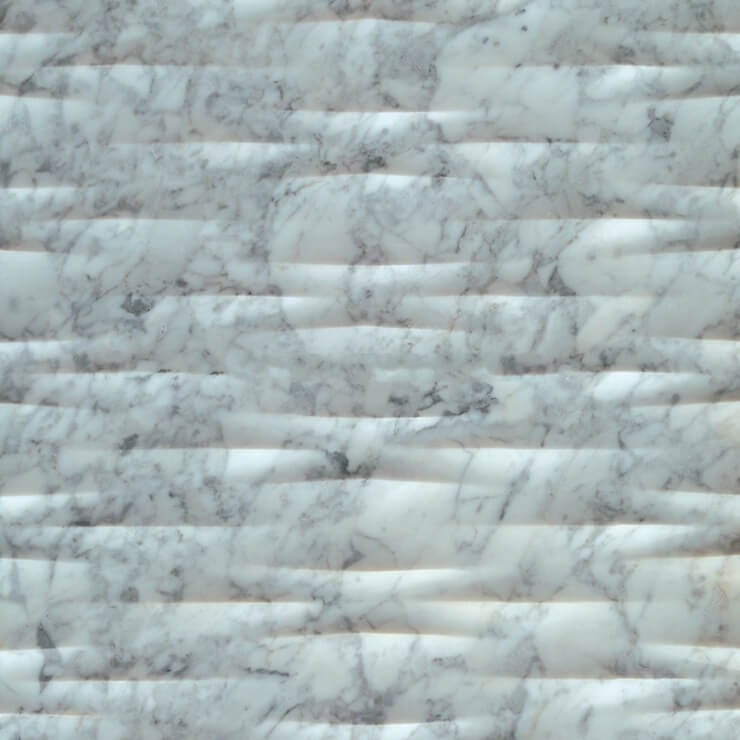 3D Carven White Marble Tile Style (6)