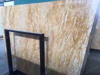 Amber Gold Marble Big Slab