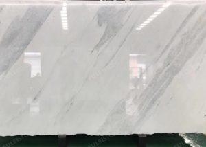 Angel White Marble Slab