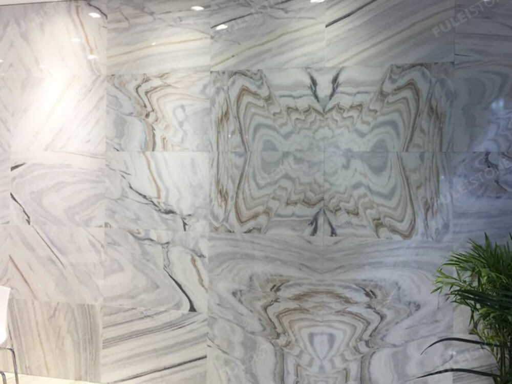 Bianco Lasa Marble SLab for Background