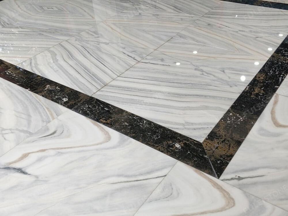 Bianco Lasa Marble for Floor