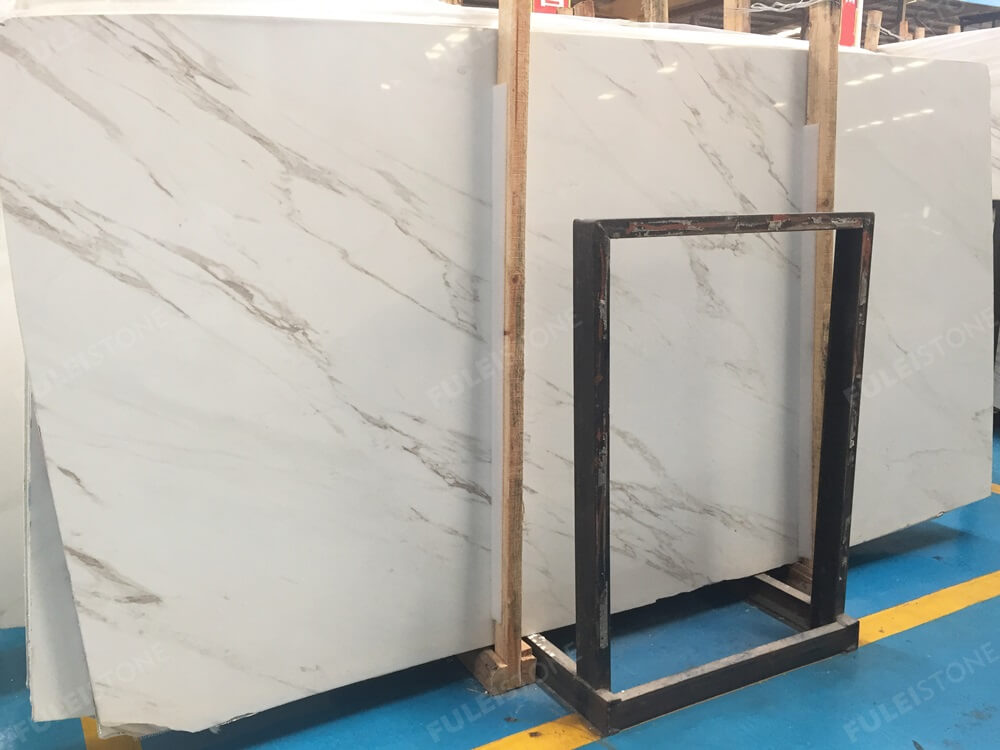 Calacatta White Marble Slab Greece