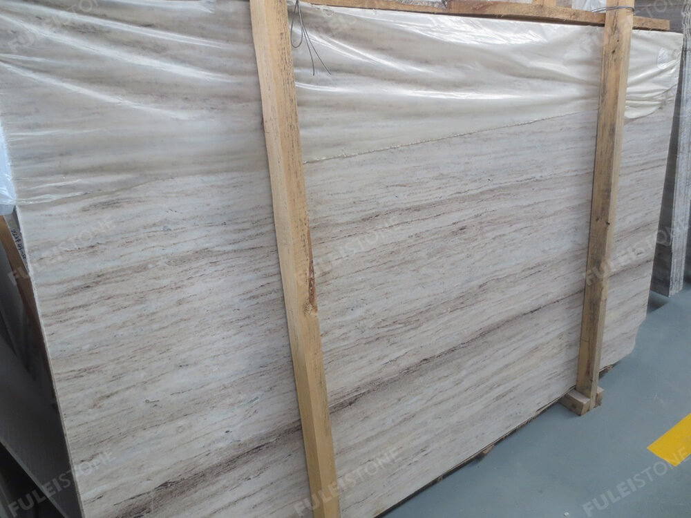 Crystal Wooden Marble Slab