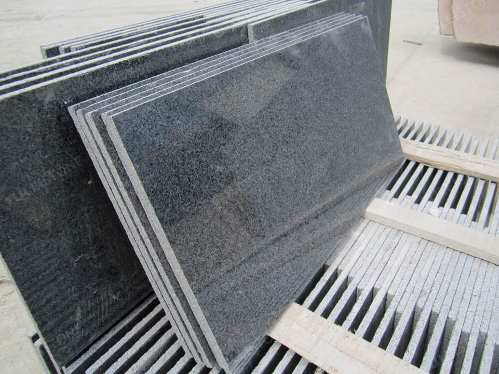 Dark Grey G654 Granite Tiles