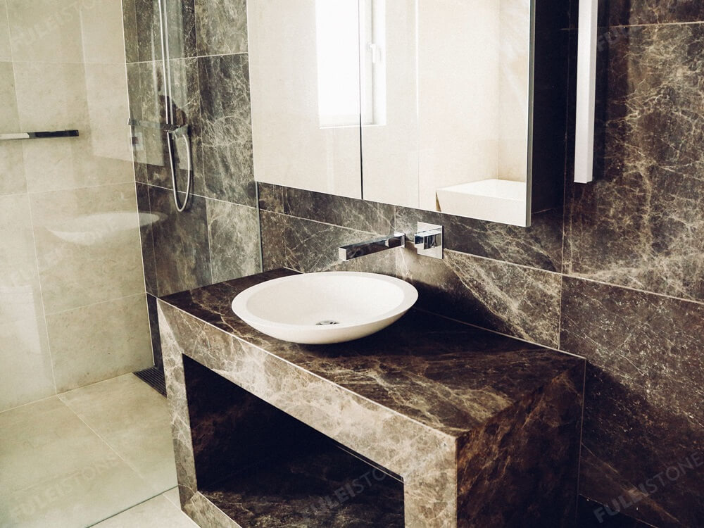 Emperador Dark Marble For Bathroom