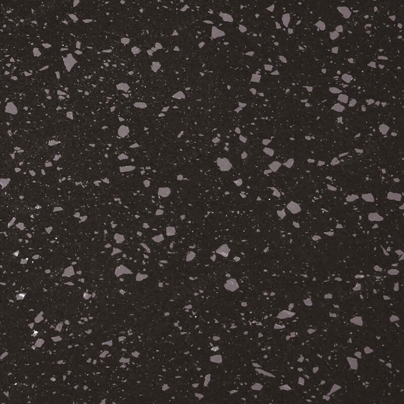 FLSQ5942 Flowing Silver Black