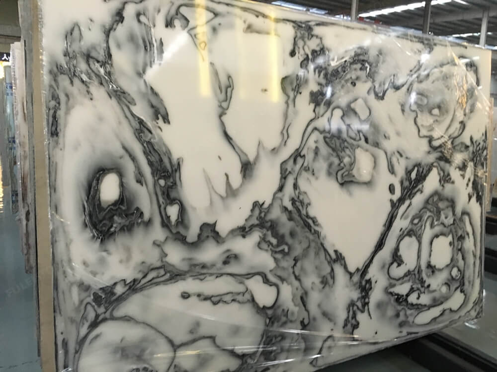 Gary Artificial Onyx Slab