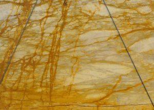 Giallo Siena Marble Slab