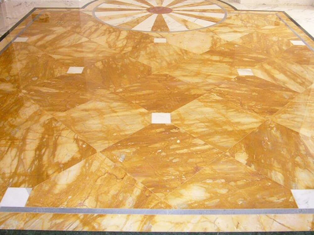 Giallo Siena Marble for Floor