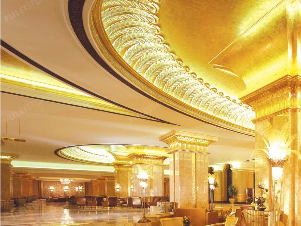 Golden Spider Marble for Luxury Hotel