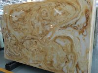 Honed Artificial Onyx Slab